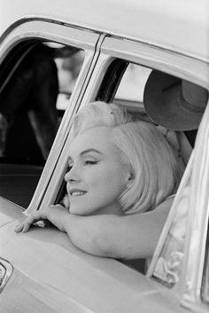 American actress Marilyn Monroe (1926 - 1962), during the location shoot of 'The Misfits' in the Nevada Desert, 1960. (Photo by Ernst Haas/Getty Images)